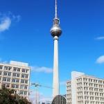 Berliinin TV-torni (kuva: RudolfSimon CC-BY-SA)