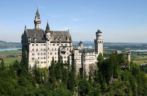 Neuschwanstein Castle (kuva: Softeis CC-BY-SA)