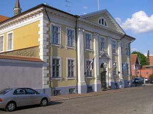 Pärnun kaupungintalo: (kuva: -jkb- CC-BY-SA)